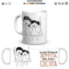 Чашка з принтом «Рідна сестра», подарунок для сестри