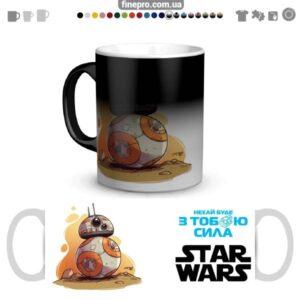 "Чашка хамелеон ""Star Wars"" - ВВ-8"