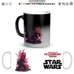 """Чашка хамелеон """"Star Wars"""" - Мол"""
