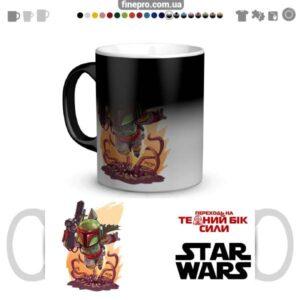 """Чашка хамелеон """"Star Wars"""" - Фетт"""