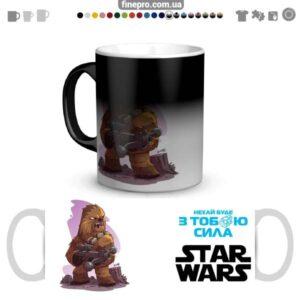 """Чашка хамелеон """"Star Wars"""" - Чубакка"""
