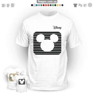 """Футболка з принтом """"Disney"""" - Mickey's logo"""