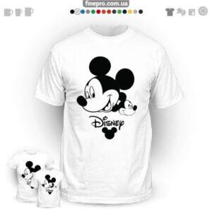 "Футболка з принтом ""Disney"" - Smiling Mickey"