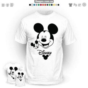 """Футболка з принтом """"Disney"""" - Double Mickey"""