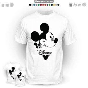 "Футболка з принтом ""Disney"" - Mickey Thinking"
