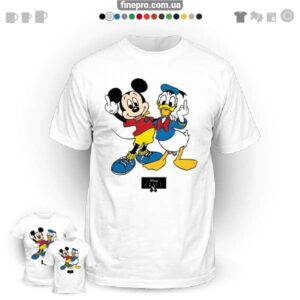"Футболка з принтом ""Disney"" - Friends"
