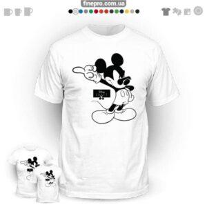 "Футболка з принтом ""Disney"" - Mickey's Rule"
